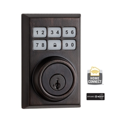 99100-014 - Contemporary Style Motorized Deadbolt - Venetian Bronze