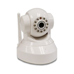 Wireless Indoor Netcam with Pan/Tilt and Night Vision
