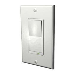 Evolve LSM-20 - Z-Wave 20A Wall Mounted Relay Switch - White