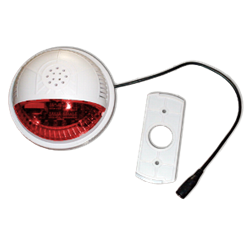 SSA2 Z-Wave Indoor Siren / Strobe (red lens)