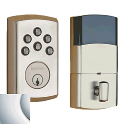 8285260AC3 - SOHO Motorized Deadbolt w/Home Connect - Polished Chrome