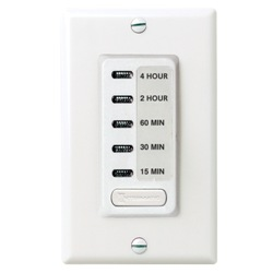 Intermatic EI215 Electronic In-Wall Countdown Timer - Ivory