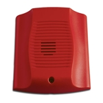 System Sensor CHR red chime for ceiling or wall installation.