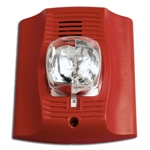 System Sensor CHSR Red Chime Strobe With Selectable Strobe Settings
