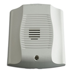 System Sensor CHW white chime for ceiling or wall installation.