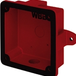 System Sensor WBB Weatherproof Back Box For Use With SSM/SSV Bells.