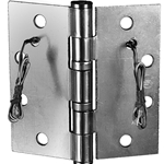 "Securitron EH-40 Electrified Hinge 4.5"" x 4"" Stainless 6 Wire"