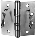 "Securitron EH-45 Electrified Hinge 4.5"" x 4.5"" Stainless 6 Wire"