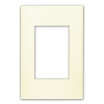 Leviton Acenti ACWP1-A 1-Gang Snap-On Polymer Wallplate - Natural