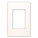 Leviton Acenti ACWP1-Q 1-Gang Snap-On Polymer Wallplate - Quartz