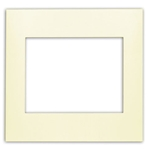 Leviton Acenti ACWP2-A 2-Gang Snap-On Polymer Wallplate - Natural