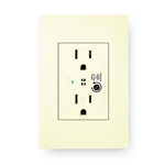 Levition Acenti ACSSR-A 5-15R 15 Amp Surge Protection Duplex Receptacle - Natural
