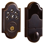 Baldwin 8252102AC3 - Boulder Motorized Deadbolt - Oil Rubbed Bronze