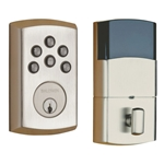 8285150AC3 - SOHO Motorized Deadbolt w/Home Connect - Satin Nickel