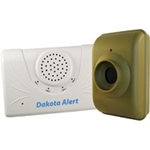 DCMA-2500 wireless motion detector/receiver kit