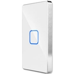 AL001-W-US - 1-Button Touch Panel for Micro In-Wall Switches/Dimmers - White