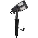 8418-2606-01 Low-Voltage Outdoor LED Gun Metal Gray Contemporary Flood Light